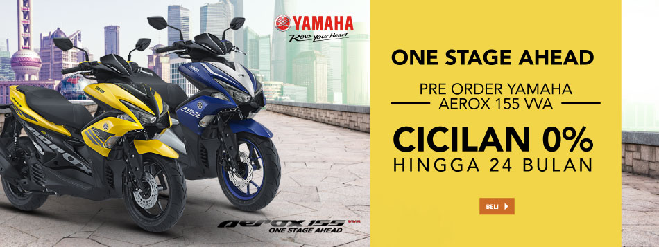 Pre Order Yamaha Aerox 155 VVA