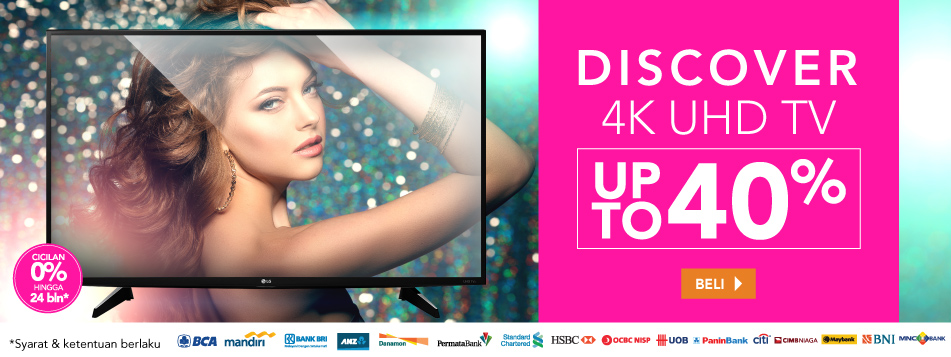 Discover 4K UHD TV