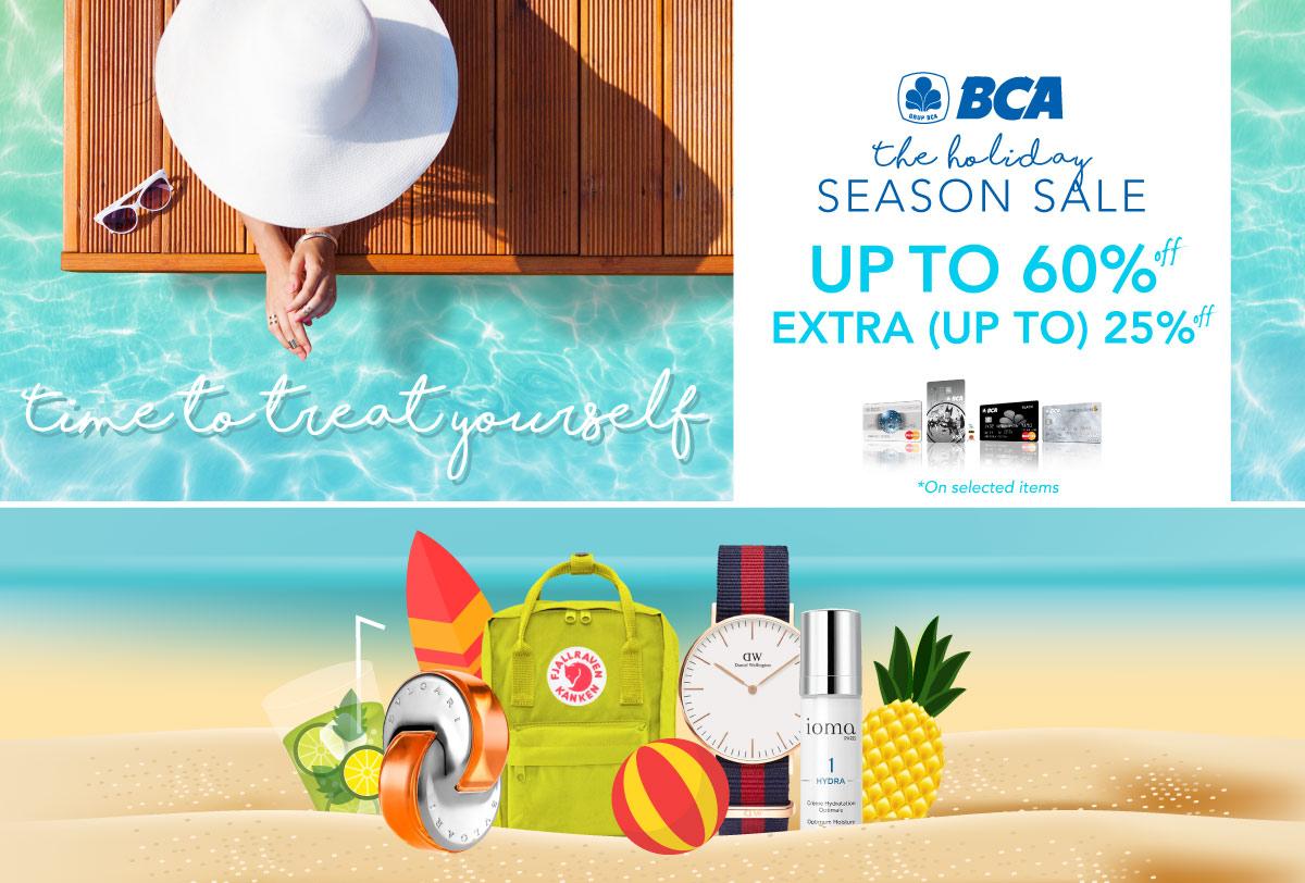 BCA Lifestyle Holiday sale