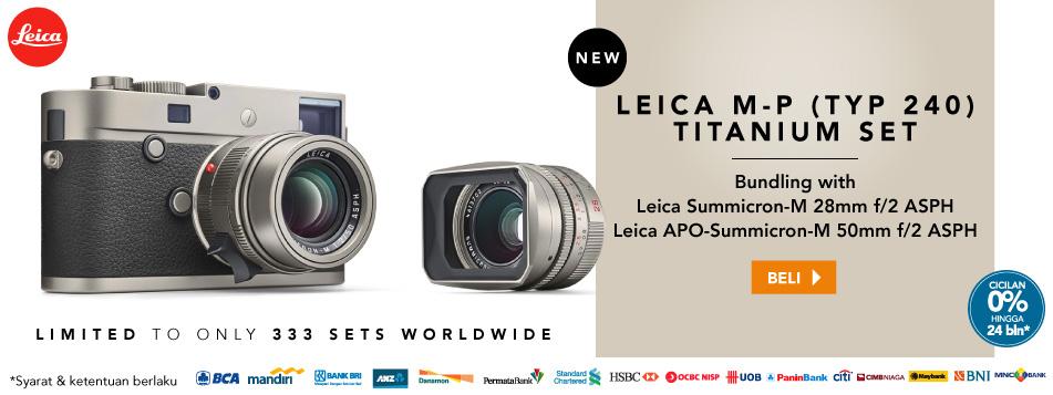 New Leica M-P (Typ 240) Titanium Edition