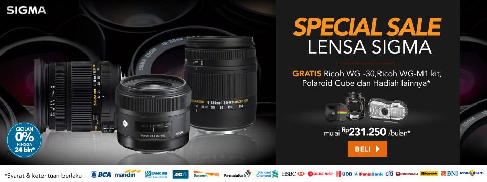 Supersale Lensa Sigma
