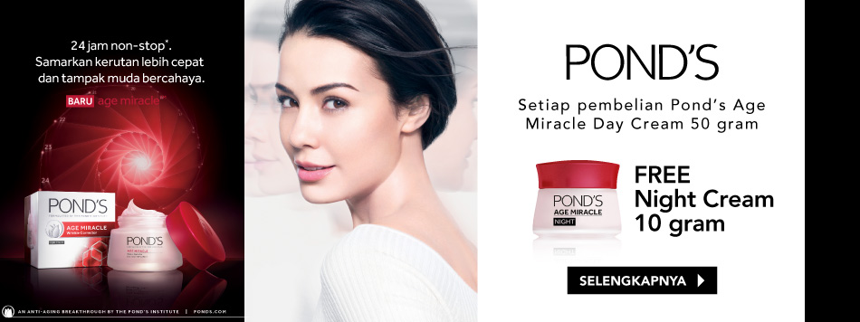Pond's Age Miracle Free Night Cream