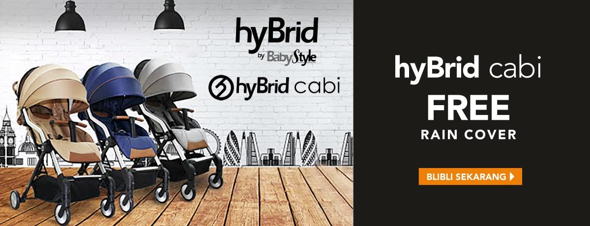 HYBRID CARRY ON FREE RAIN COVER