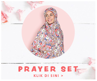 prayer set wanita