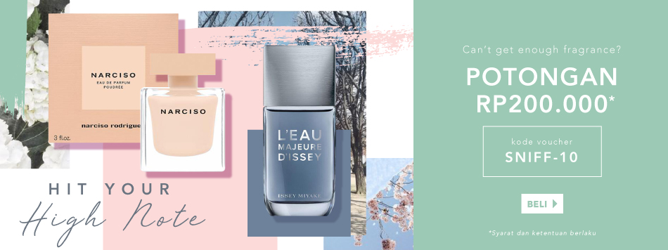 Perfume Save Up to Rp200.000