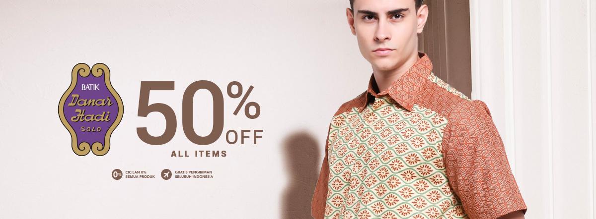 promo batik danar hadi termurah all item discount 50 blibli com rh blibli com