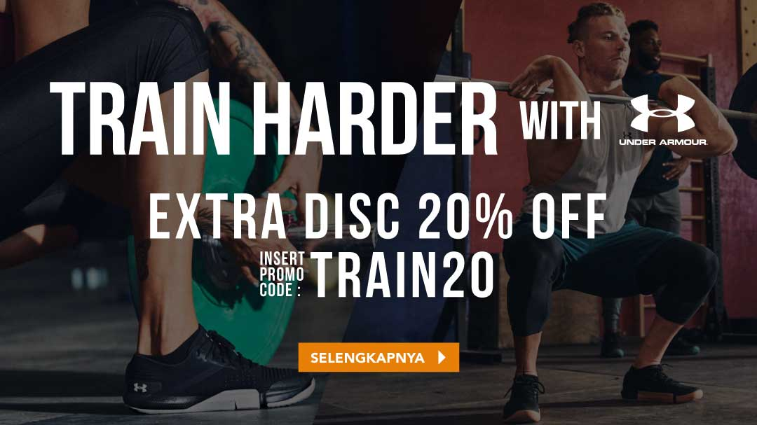 Train Harder with Under Armour