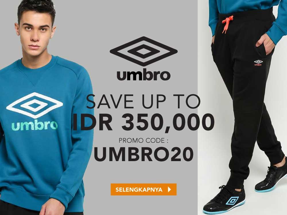 Umbro Deals Up To 350.000