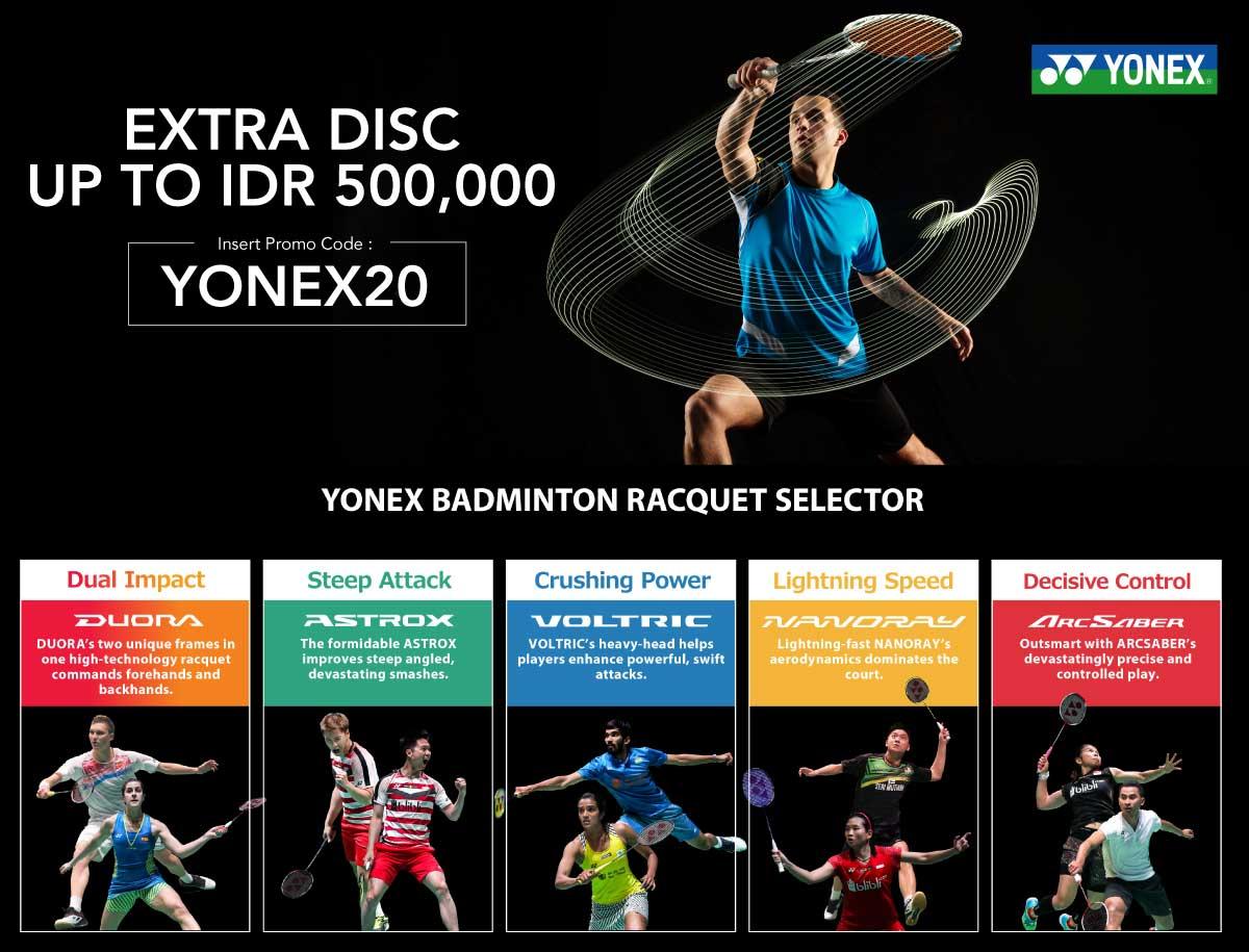 Best Deal - Yonex Racket Collections