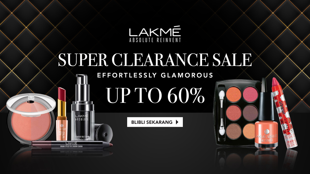 Lakme Up to 60%