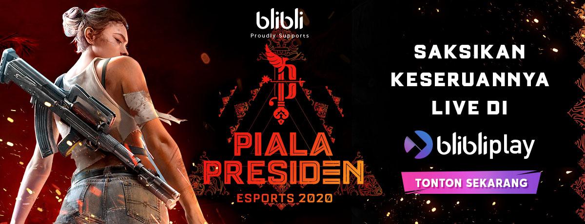 Keseruan Piala Presiden di Blibliplay