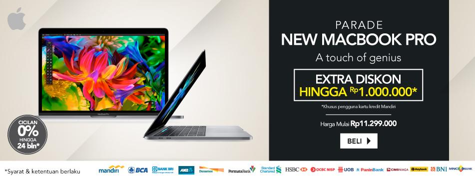 Parade New Macbook Pro