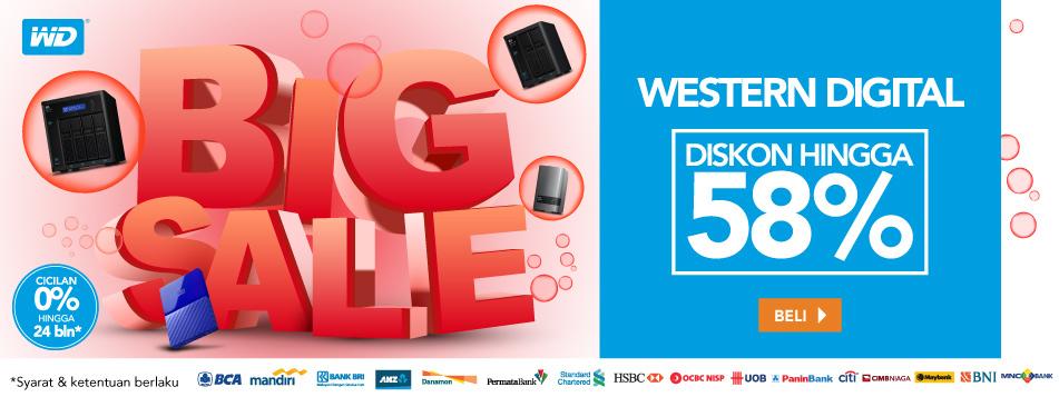 WD Big Sale