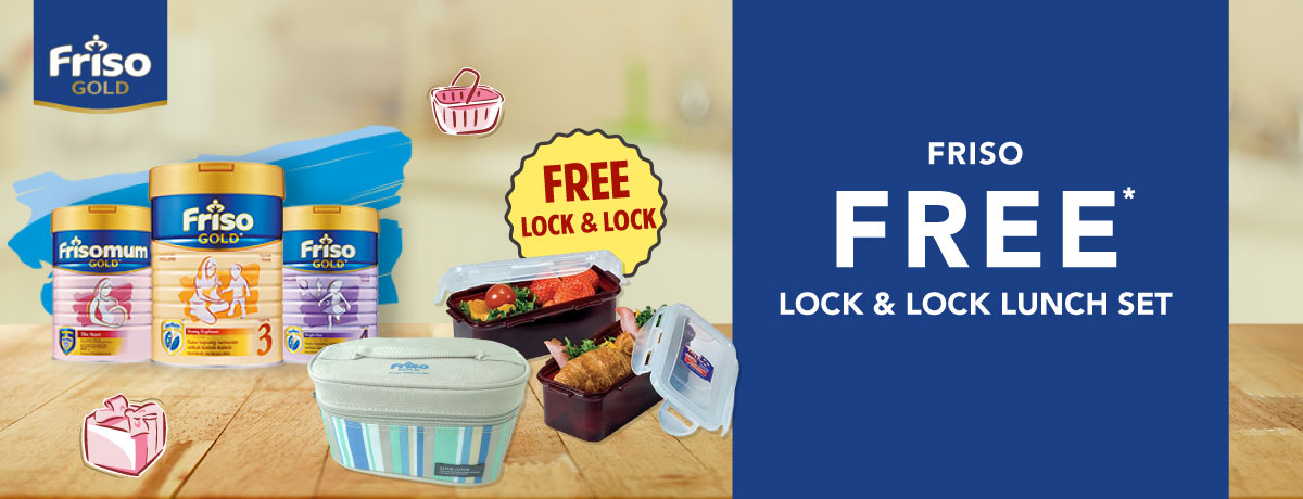 Friso FREE Lock n Lock
