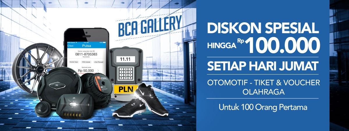 Diskon Special Setiap Jumat Untuk Kartu Kredit BCA
