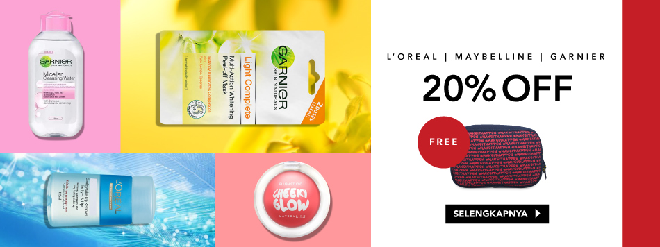 L'oreal Free Pouch