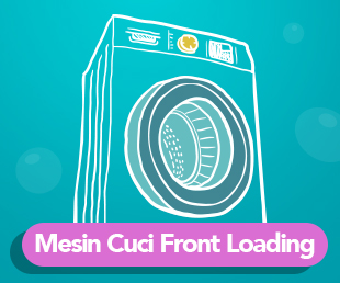 Mesin Cuci Front Loading