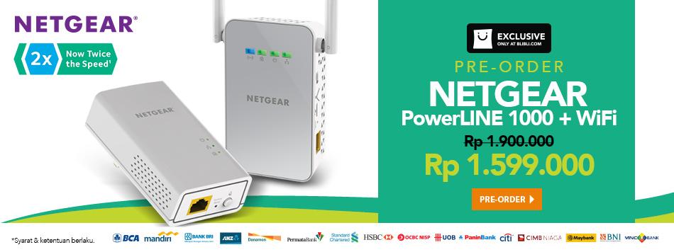 Preorder Netgear Powerline