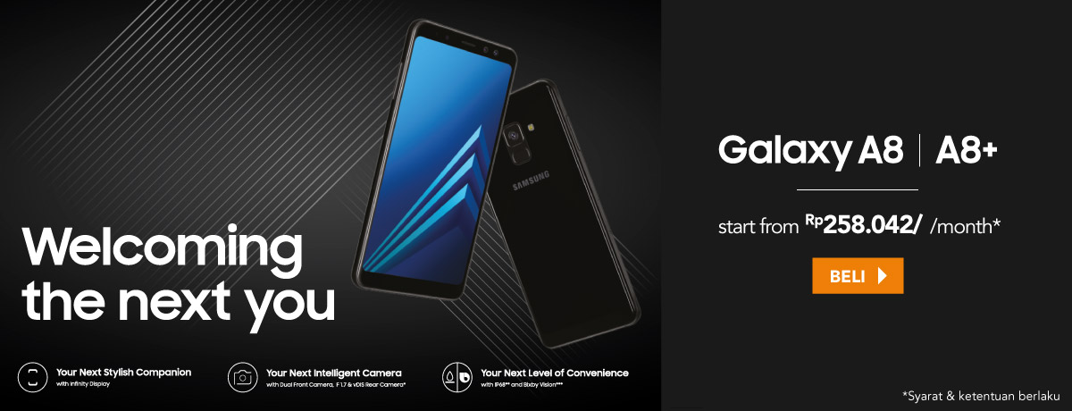 NEW SAMSUNG GALAXY A8 & A8+