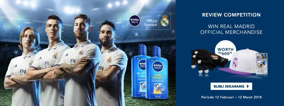WIN Real Madrid Merchandise dari Nivea