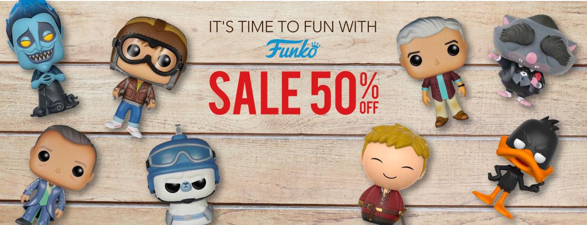 Funko Discount 50%