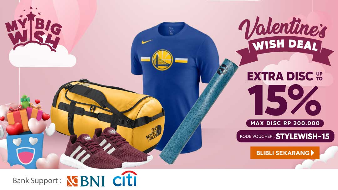 Valentine Wish Deal Extra 15%