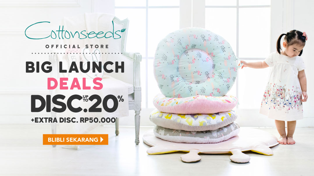 Cottonseeds Big Launch, Disc. up to 20%