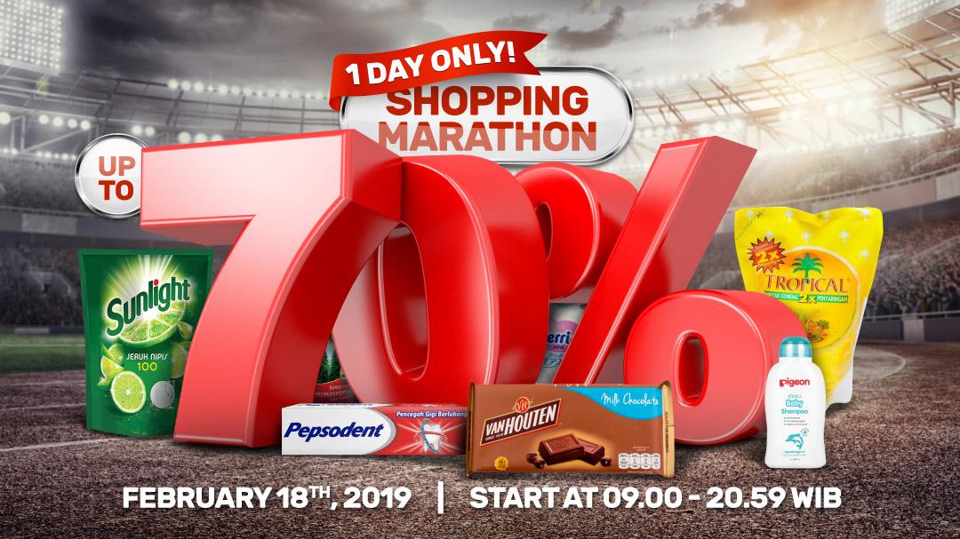 Shopping Marathon Feb