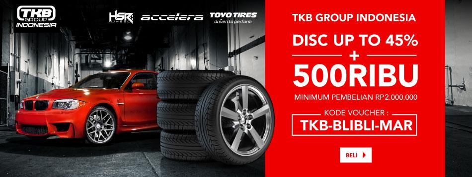 HSR Wheel ekstra diskon 5%