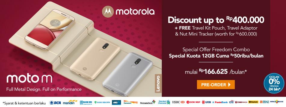 Preorder Moto M