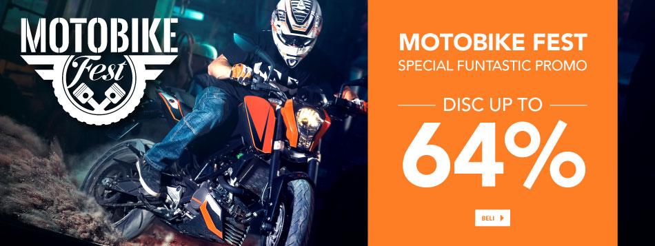 Motobike Fest up to 64%