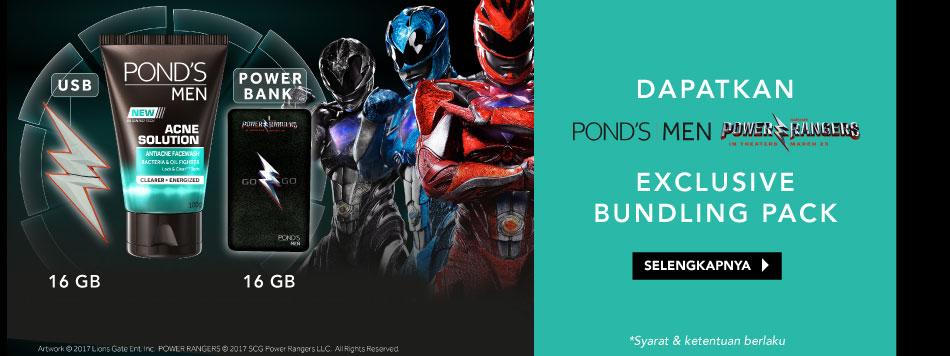 Pond's x Power Ranger