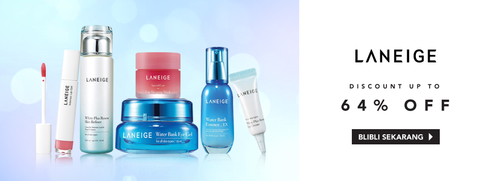 LANEIGE UP TO 64%