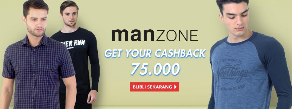 Manzone Cashback 75k