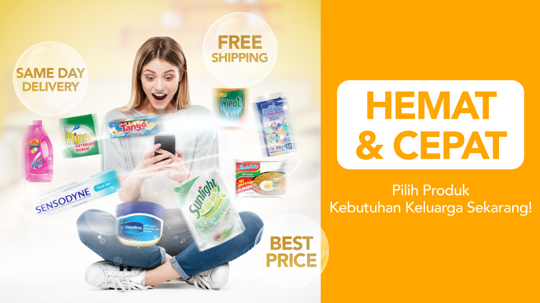 Same Day Delivery Produk Groceries