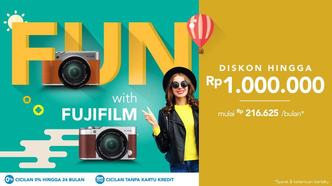 Fun with Fujifilm
