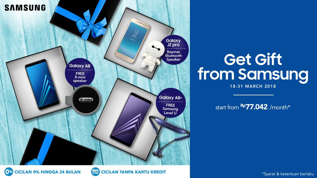 Promo Samsung Bundling atau Free Gift