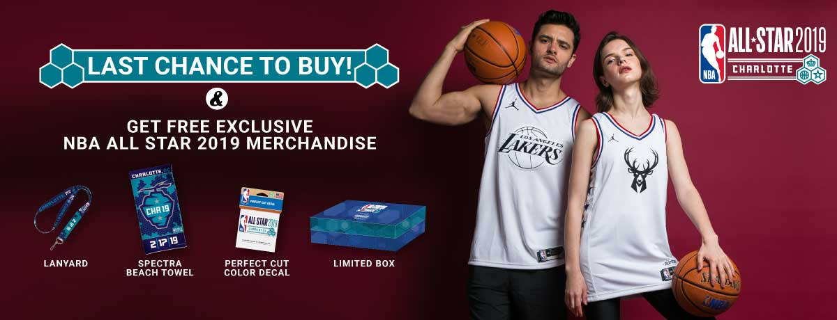 e8c048766a9 Promo NBA All Star Disc 20% + Free Merchandise - Original