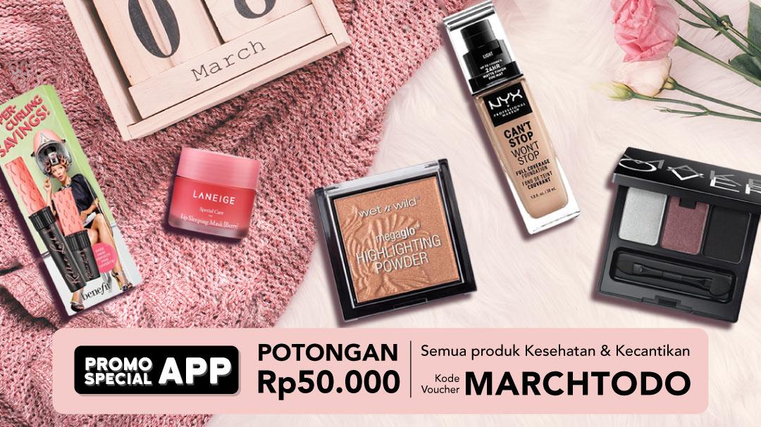 Kesehatan dan Kecantikan Promo Special Apps