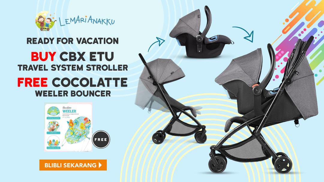 CBX ETU Travel Stroller Free Bouncer