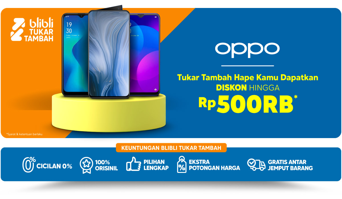 tukar tambah hp oppo lama mu trade in