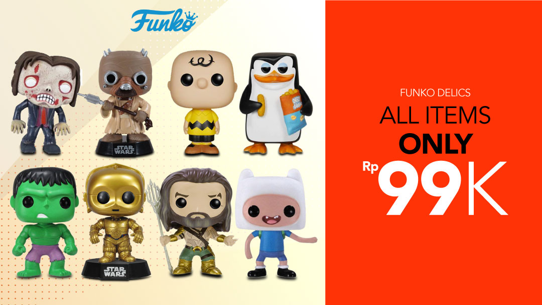 Funko Pop All Items Only Rp99K