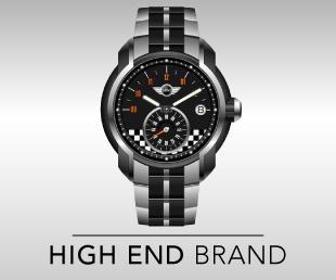 high end brand