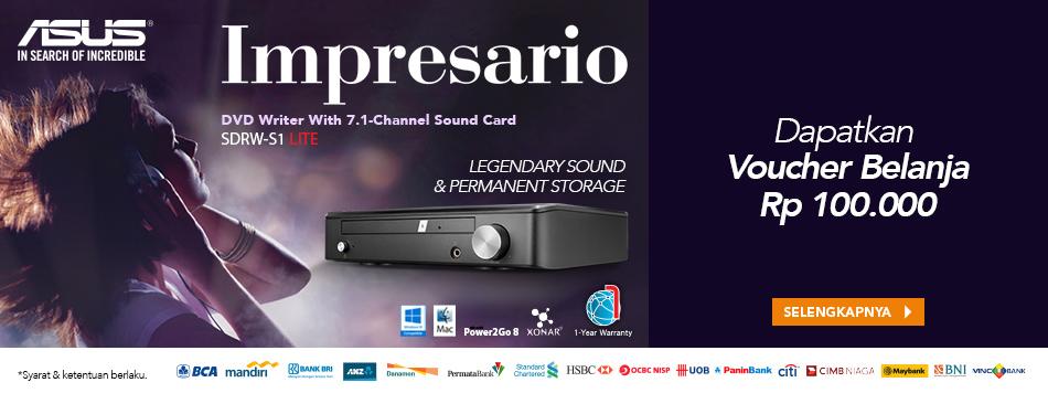 Launching Asus Impresario