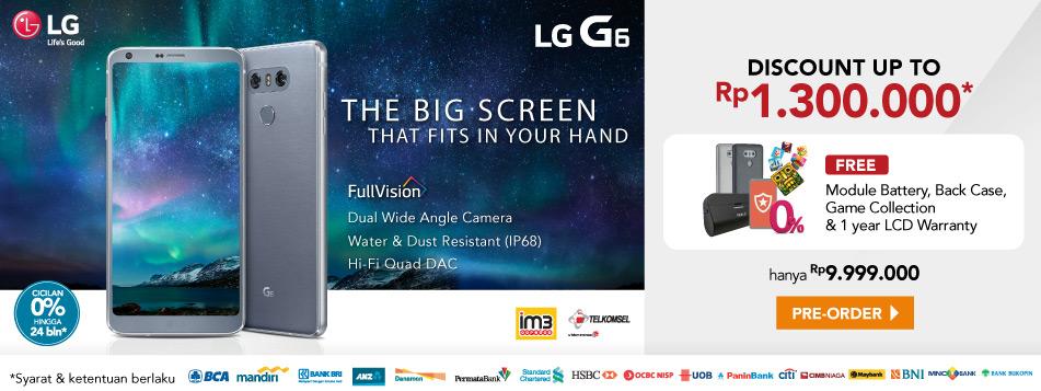 Preorder LG G6