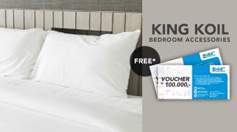 King Koil Free Voucher April