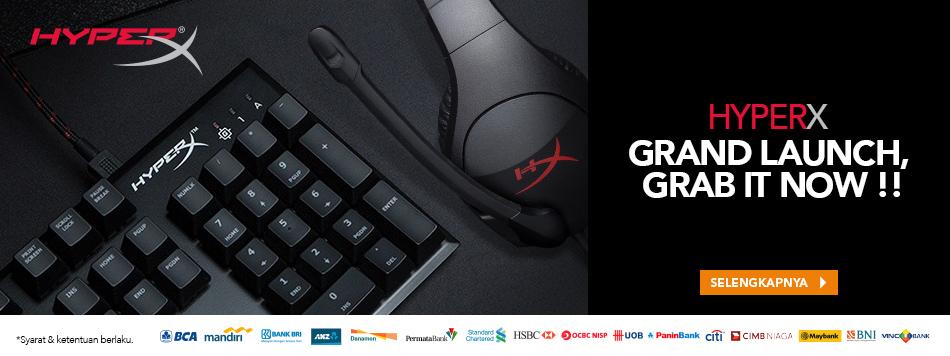 Launch Hyper X Gaming Gear