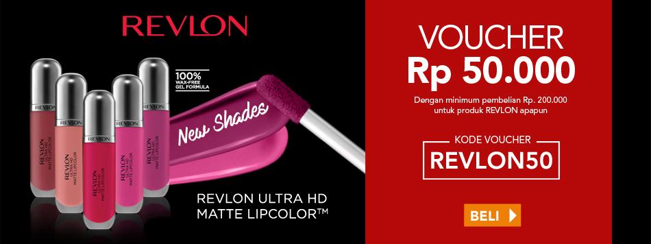 Revlon Discount Rp50.000