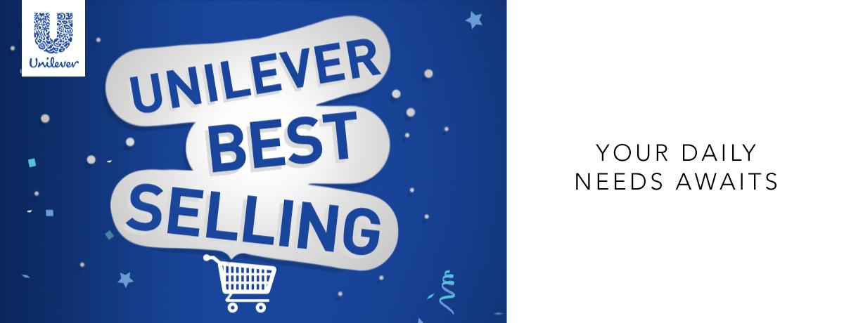 Unilever Best Selling