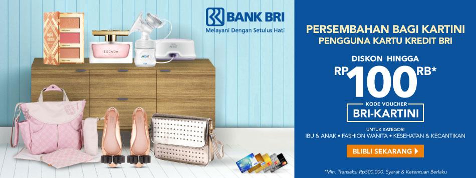 BRI Kartini Discount Rp100.000